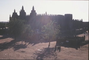 moschea controluce