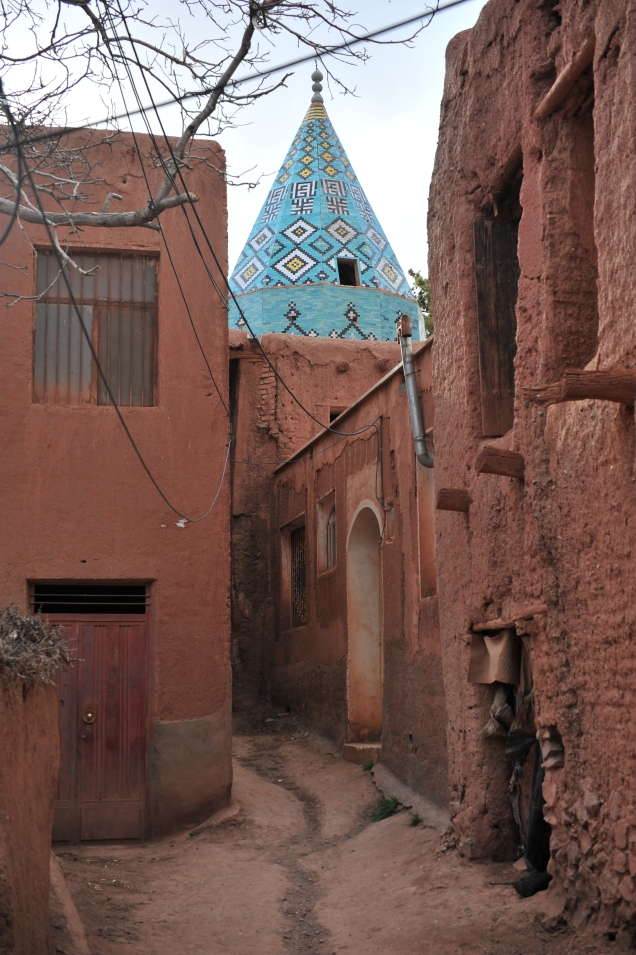 Abyaneh cupola moschea
