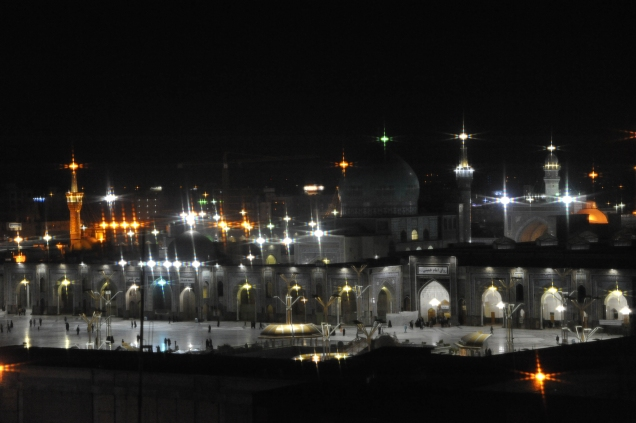 Mashhad at night