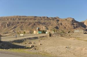 villaggio confine iraqueno