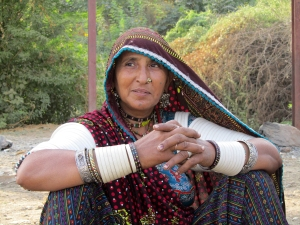 Rabari woman